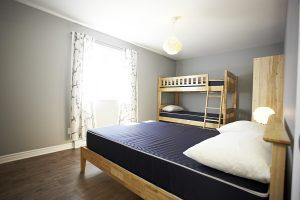 nichee chalets lanaudiere chambre 6