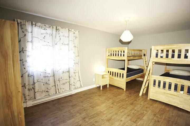 nichee chalets lanaudiere chambre 8