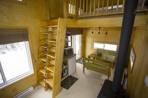 sous bois chalets lanaudiere interieur 6